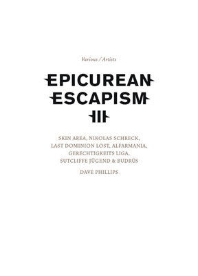 V.A. : Epicurean Escapism III