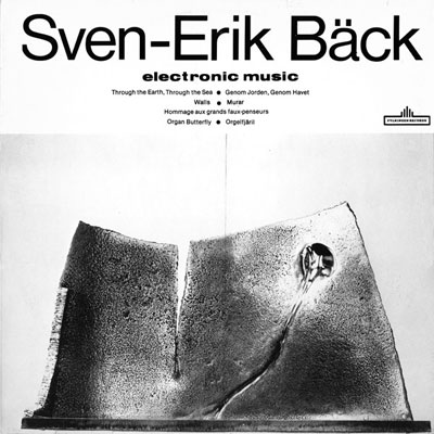 SVEN-ERIK BACK : Electronic Music