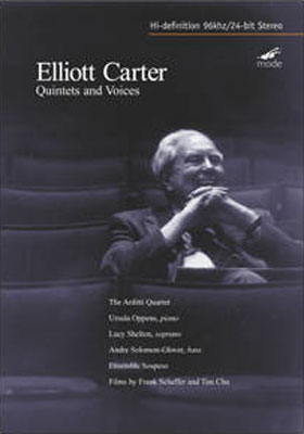 ELLIOTT CARTER : Quintets and Voices