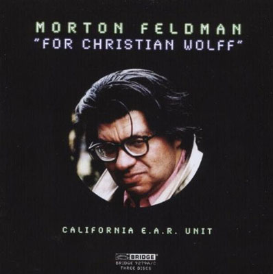 MORTON FELDMAN : For Christian Wolff
