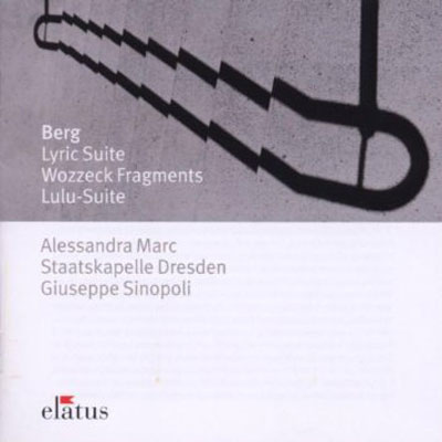 ALBAN BERG : Lyric Suite,Wozzeck Fragments,Lulu-Suite