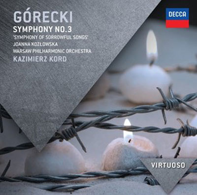 "HENRYK GORECKI : Symphony No.3 ""Symphony of Sorrowful Songs"""