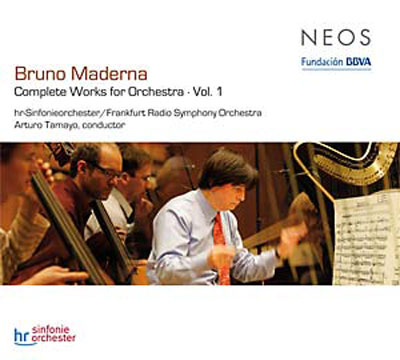 BRUNO MADERNA : Complete Works For Orchestra Vol.1