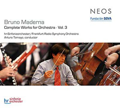 BRUNO MADERNA : Complete Works For Orchestra Vol.3 - ウインドウを閉じる