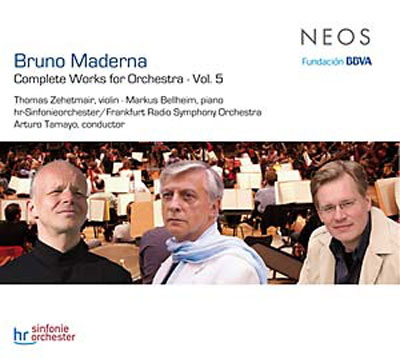 BRUNO MADERNA : Complete Works For Orchestra Vol.5