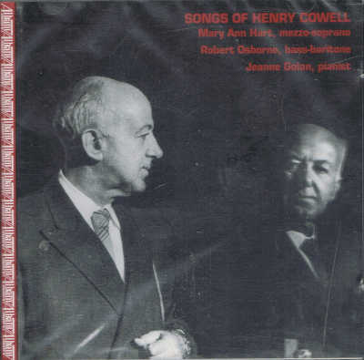 HENRY COWELL : Songs of Henry Cowell