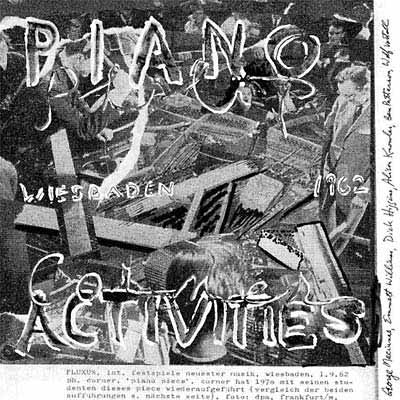 PHILIP CORNER : Piano Activities