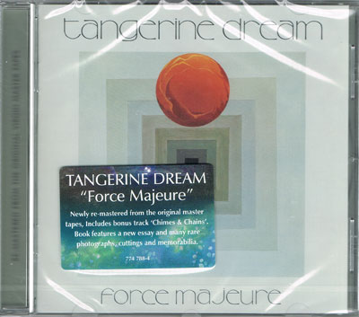 TANGERINE DREAM : Force Majeure