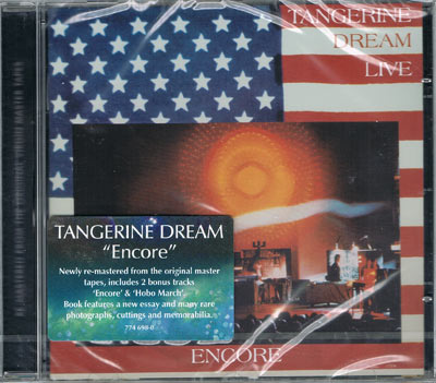 TANGERINE DREAM : Encore