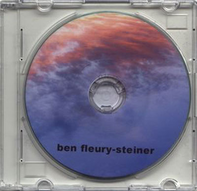 BEN FLEURY-STEINER : He Drems In Rivers