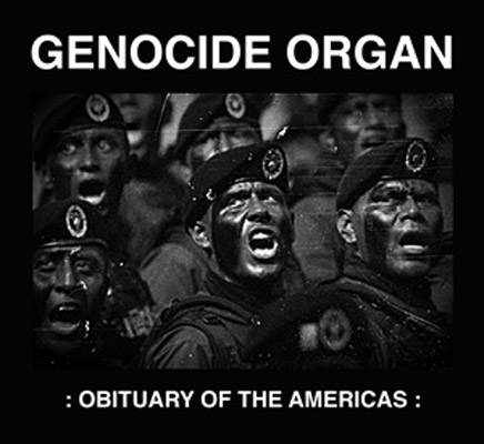 GENOCIDE ORGAN : Obituary Of The Americas - new cover