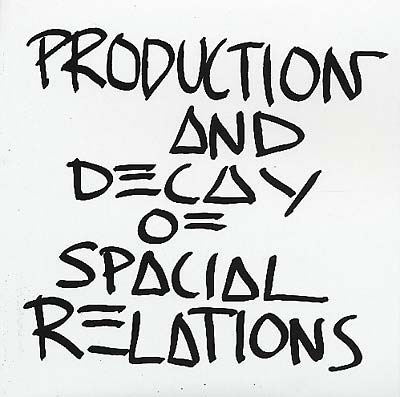 Z'EV : Production And Decay Of Spacial Relations vs. Reproduction And Decay Of Spatial Relations