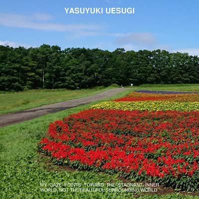 UESUGI YASUYUKI : My Gaze Points Toward The Stagnant Inner World, Not The Beautiful Surrounding World