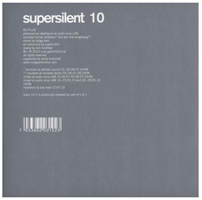 SUPERSILENT : 10