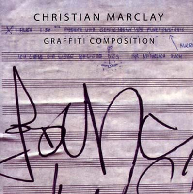 CHRISTIAN MARCLAY : Graffiti Composition