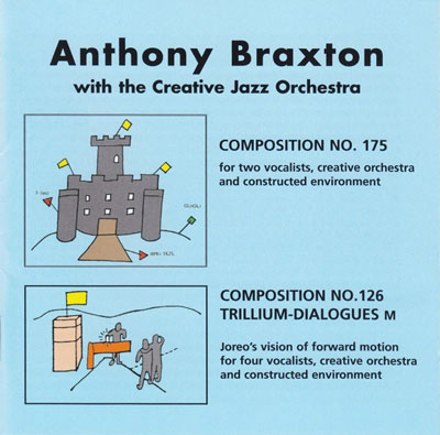 ANTHONY BRAXTON WITH THE CREATIVE JAZZ ORCHESTRA : Composition N