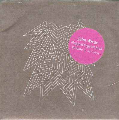 JOHN WIESE : Magical Crystal Blah Volume 3
